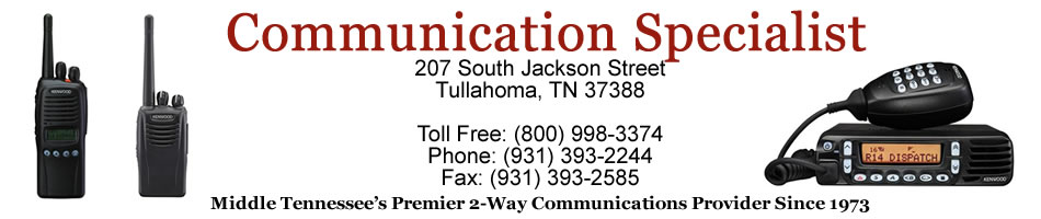 Communication Specialist Tullahoma TN